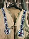 beaded NATIVE AMERICAN INDIAN JACKET with fringe