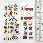 Mrs Grossman's Stickers Lot Children's Toys Doll Wagon Train Jack-in-the-Box