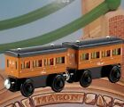 THOMAS & FRIENDS WOODEN RAILWAY LIGHT UP REVEAL ANNIE & CLARABEL FREE BATTERIES