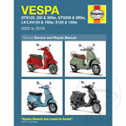 Vespa GTS 250 ie ABS 2007 Haynes Service Repair Manual 4898