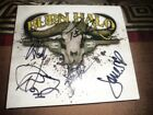 Burn Halo Autographed CD, (Mint Condition)