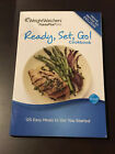 WEIGHT WATCHERS POINTS PLUS guide book Ready Set Go Cookbook Weight Diet Menu