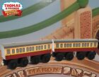 THOMAS & FRIENDS WOODEN RAILWAY ~ OPEN BOX ~ EXPRESS COACHES ~ DISPLAY ONLY! EUC
