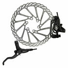 Clarks Clout 1 Hydraulic Disc Brake Brakes Rear 160Mm Black Mineral Oil Is Mount