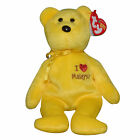 Ty Beanie Baby Malaysia I Love - MWMT (Bear Malaysia Country Exclusive 2005)