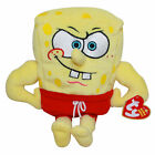 Ty Beanie Baby MuscleBob Buffpants - MWMT (Character SpongeBob SquarePants)