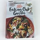Weight watchers Menu Master Eating Out Guide paperback 2015 HG1