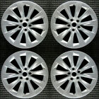 Set 2016 Tesla Model S OEM Factory 105933700A 19 Slipstream Wheels Rims 97755