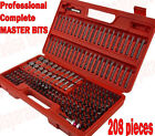 MASTER TAMPER PROOF 1 4 Security Hex Torx Bit Nut Driver Set COMPLETE KIT