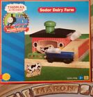 THOMAS & FRIENDS WOODEN RAILWAY ~  SODOR DAIRY FARM ~ ABSOLUTELY MINT ~ 2001