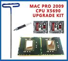 Pair Delidded Intel Xeon 346GHz X5690 IHS Removed 2009 41 Mac Pro Upgrade Kit