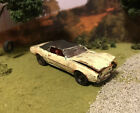1969 Pontiac Firebird Rusty Weathered Custom 1/64 Diecast Car Barn Find Wreck