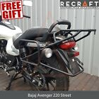 Bajaj Avenger Street 220 Whole-Welded Luggage Rack System For Cases + GIFT