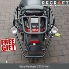 Bajaj Avenger Street 220 Whole-Welded Rack System for Soft Luggage + GIFT
