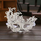 Lady Lace Floral Eye Mask Venetian Masquerade Fancy Party Event White
