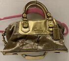Coach Carriage Ashley Brown Handbag F15540