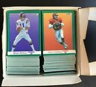 1991 NFL Pro Line Portraits Signet Series Box of Football cards