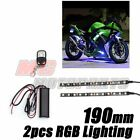 For Cagiva V Raptor RGB Light Strips DIY Fairing Multi-Color Design