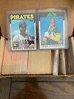 1986 1987 1990 Topps Traded Complete Set Bonds Conseco Rookies