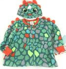 Cat and Jack Sleeper Jumper Zipper Front Baby Dino kids size 12M