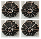20 Black Multispoke AMG Style Rims Wheels Fits Mercedes Benz S450 S550 S600 S63