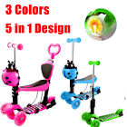 3 Wheels Kick Scooter Skate Ride Kids Child Toddler Girl Toy Play Outdoor w LED