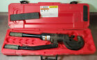Burndy Y750HSXT 12 Ton Hydraulic Manual Hand Crimping Tool Crimper With Case