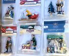 6 Beautiful Lemax Figurines For Christmas Villages Dept 56