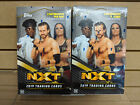 TWO 2019 Topps WWE NXT Hobby Box (2) NEW Sealed