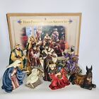 2002 Grandeur Noel MARY Nativity Christmas FigurineComplete Set Cerimac Large