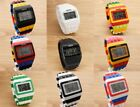 SHHORS Colorful Colored LED Wrist Watch Building Blocks Design Multiple Patterns