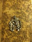 Solid Recycled Sterling Silver Art Piece Corset Pendant OOAK by Rheta Erts