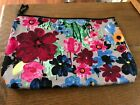 Thirty One Flower Womens Multi Colored Make Up Bag