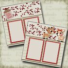 Season to Sparkle Christmas Premade Scrapbook Pages EZ Layout 4462