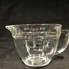 Vintage Fire-King #89 Measuring Cup 4 cup Clear Glass.Batter Bowl