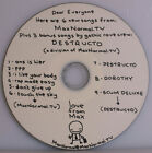 Die Antwoord MAXNORMALTV RARE GOOD MORNING SOUTH AFRICA DEMO HAND DRAWN BY NINJA