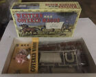 Doyusha Western Covered Wagon Model Kit 1:40 scale Open but complete