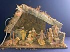 Vintage Fontanini Nativity Scenic Figurines with Lighted Manger 19