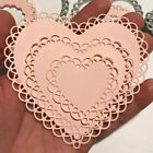 Lace Heart Metal Cutting Dies Stencil Craft Embossing Die Cuts Stamps DIY Cards