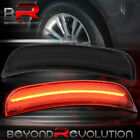 For 2015-2019 Chrysler 300/300C Srt8 Rear Bumper Red LED Smoked Side Marker