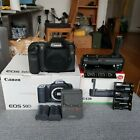 Canon EOS 50D 151MP Digital SLR Camera Boxed Body Grip Batteries Charger