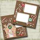 Christmas Sweets Premade Scrapbook Pages EZ Layout 4470