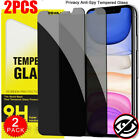 Privacy Anti Spy Tempered Glass Screen Protector For iPhone 11 Pro XS Max XR 7 8