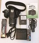 Canon EOS Rebel T3i EOS 600D 180MP DSLR Camera Kit w 18 55mm lens and Case