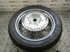 Honda VT400 Shadow 2012 front wheel rim with great tyre & brake disc rotor