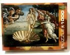JIGSAW Puzzle Eurographics 1000 Botticelli Birth of Venus EG60005001 NEW Sealed