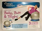 Work Your Belly Butt Thighs DVD 2011 With Stability Ball Weight Watchers NEW
