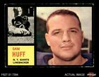 1962 Topps Football Cards 5