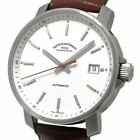 Mühle-Glashütte M1-25-20 automatic-winding watch white leather Excellent+++