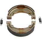 EBC Grooved Organic Rear Brake Shoes Honda CB125S, CH250 Elite